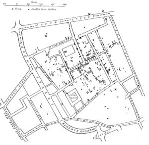 Ghost Map | John Snow | Cholera on